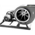 Пылевой вентилятор ВРП 110-49-6,3 22,0 кВт